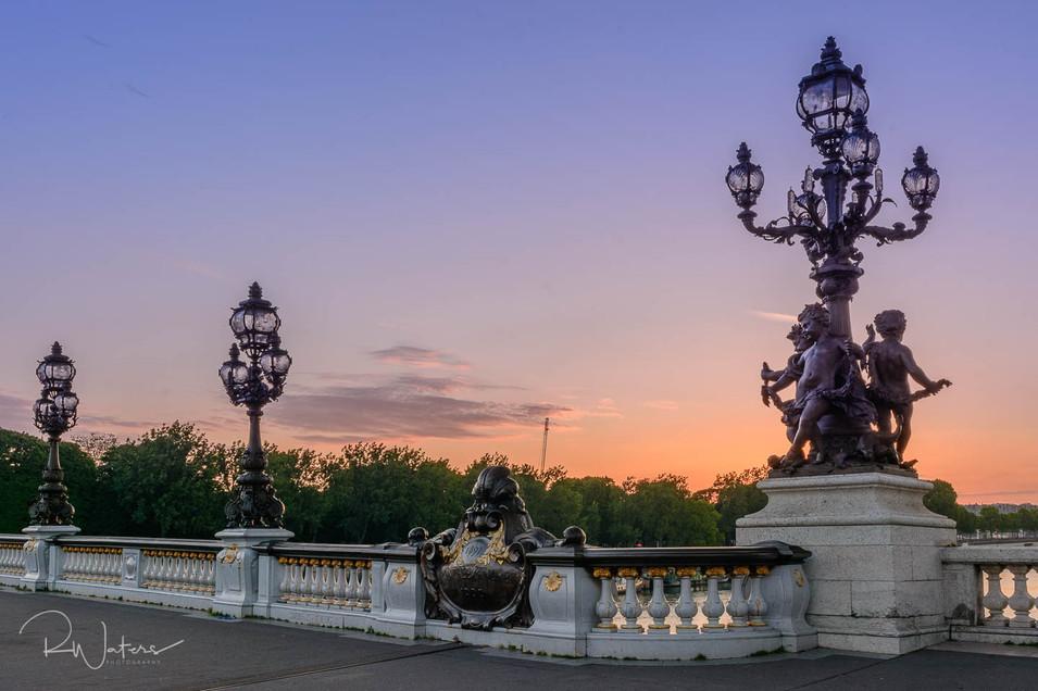Pont Alexandre III Sunset