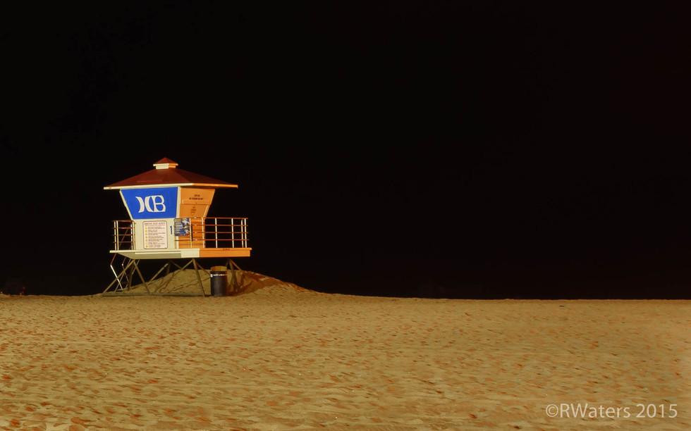 Huntington Beach Lifeguard Shack 1