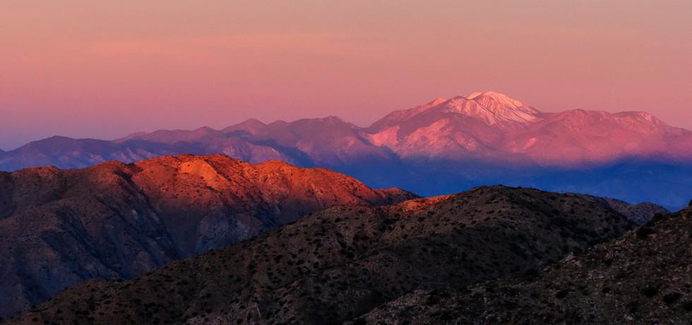 Magical Mountain Sunset