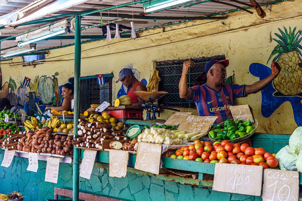 Farmer's Market Havana Style