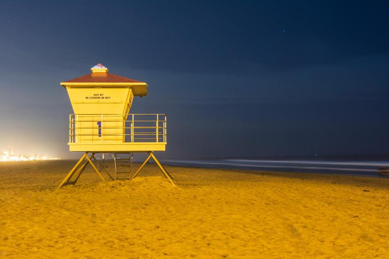 Huntington Beach Lifeguard Shack 2