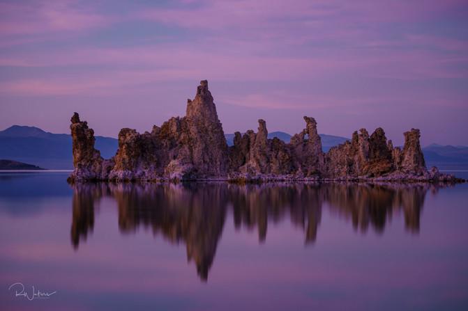 Mono Lake Tufas Reflection