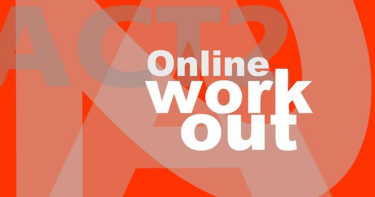ACT2 Online Workout Scene Study Nadine Wright