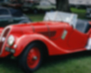 Red Antique Car
