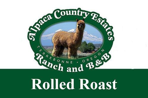 Backstrap Rolled Roast