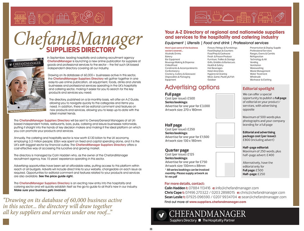 Chefandmanager Media Card
