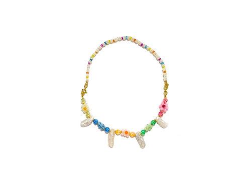 2 way Fava candy bracelet / necklace