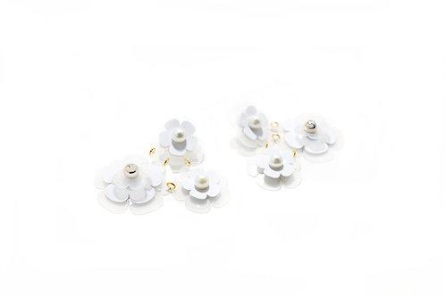 Feva earring in White