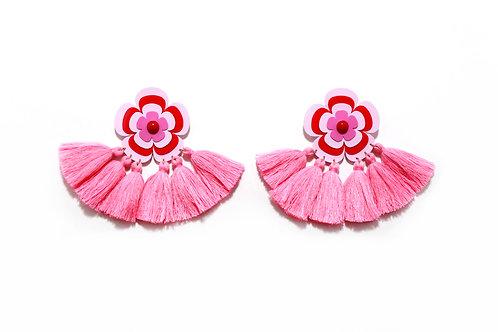 Sofie earring in Pink