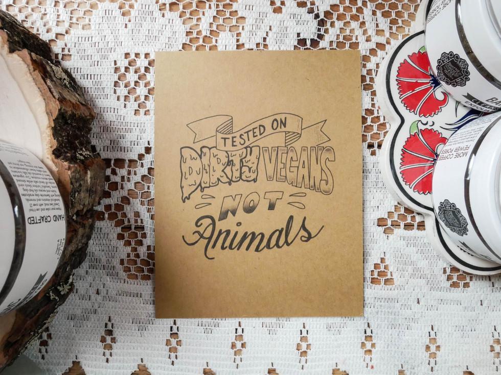 Mailer Lettering & Print Design