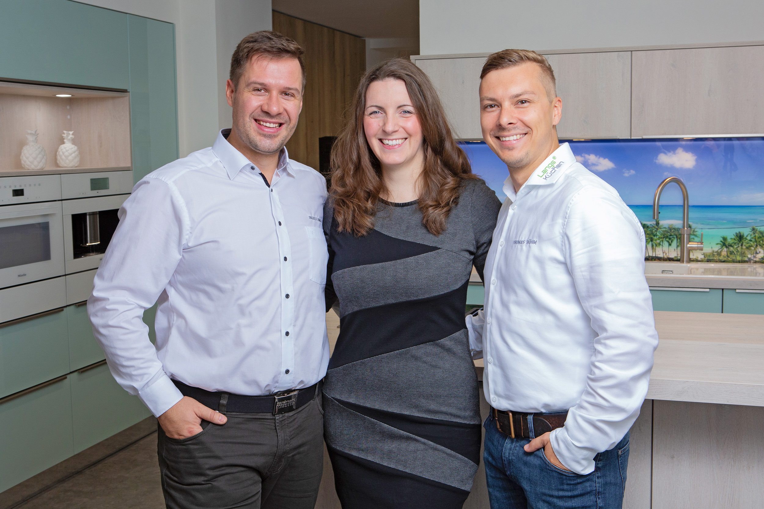Jana & Ingolf Langs mit Thomas Böhm