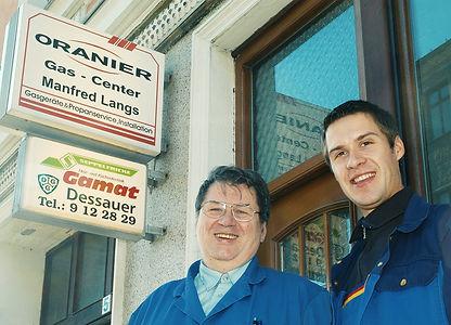 Manfred und Ingolf Langs