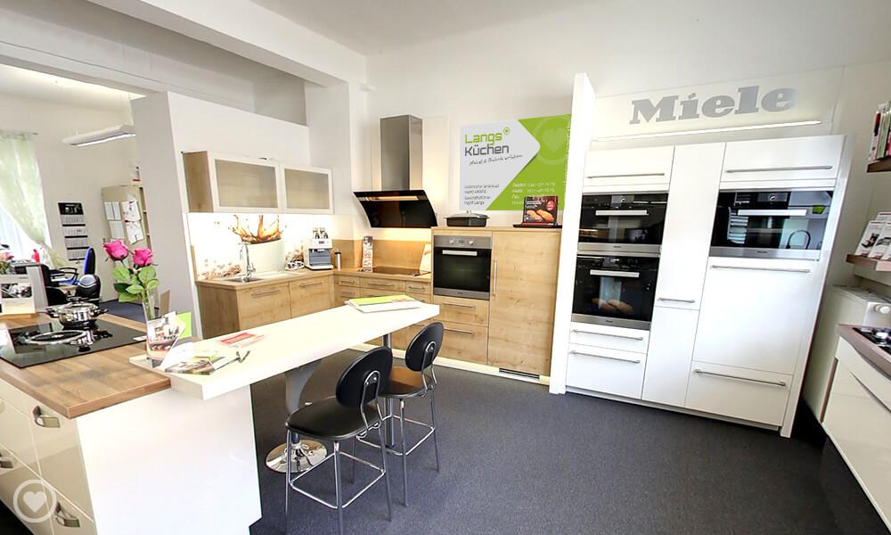 Ansicht ins Küchenstudio