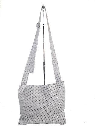 Perforated Messenger Bag