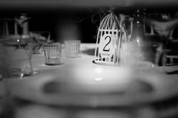 Tischnummer Shirin Wedding & Event