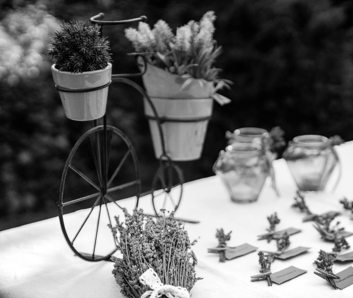 Lavendeldeko, Shirin Wedding & Event