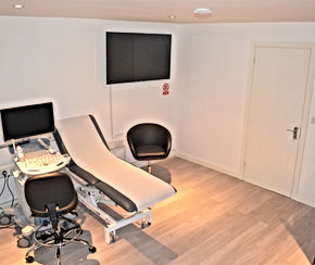 The Baby Suite ultrasound room