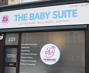 The Baby Suite shop front