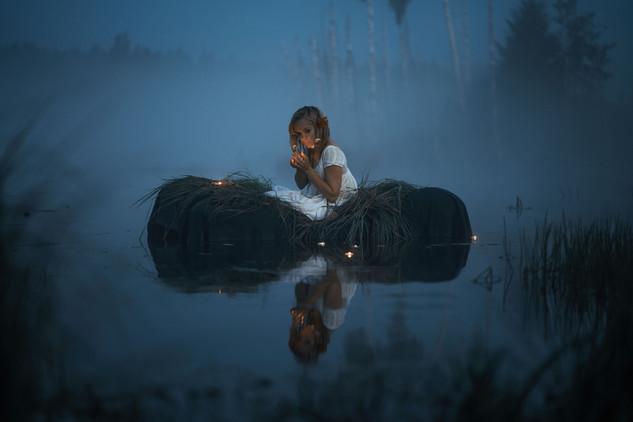 Портретные фотосессии на природе