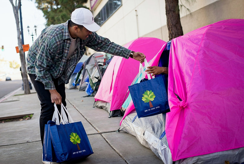 Nick on streets homeless outreach in Riverside