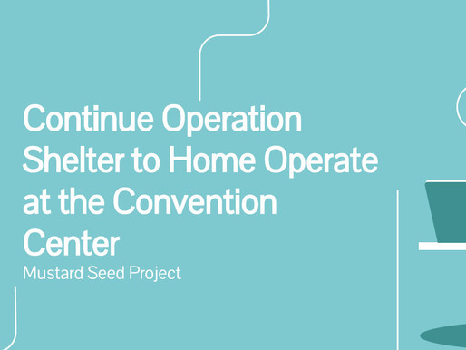 Keep the San Diego Convention Center shelter open