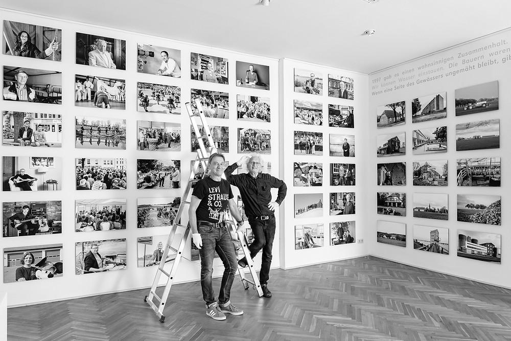 Michael Anker und Stefan Schick Oderbruch-Portraits