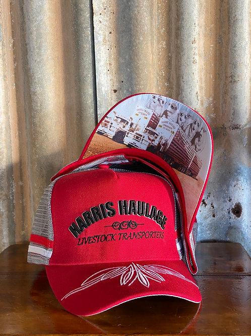 Harris Haulage Retro Trucker Cap