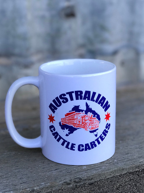 Australian Cattle Carters Ceramic Mug