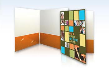 (6 x 9) Presentation Folders - 2 Sides