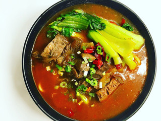 A Love Affair with Hot Spicy Beef Noodle Soup (Szechuan Style)