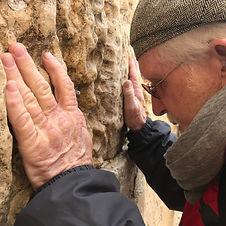 Man praying at the Wall