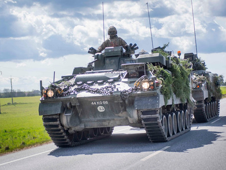 Sustainability in the MOD: The Push For Electric Armoured Vehicles