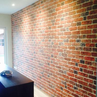 3D Brick Effect Wall Panel