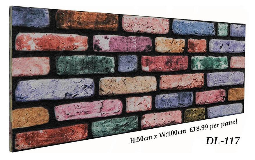 DL117 3D Brick Effect Wall Panel Polystyrene Ceiling Panels