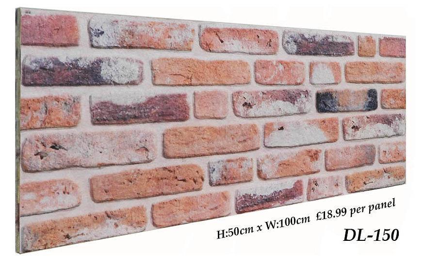 DL150 3D Brick Effect Wall Panel Polystyrene Ceiling Panels