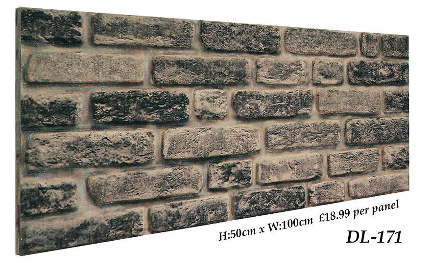 DL171 3D Brick Effect Wall Panel