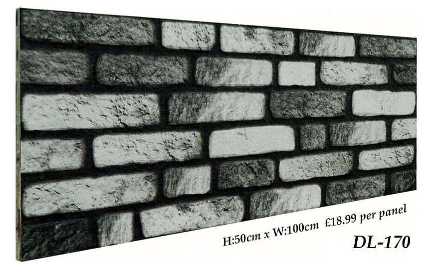 DL170 3D Brick Effect Wall Panel Polystyrene Ceiling Panels