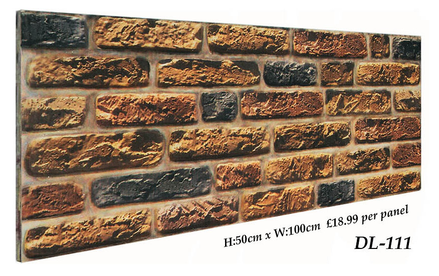 DL111 3d Brick Effect Wall Panel