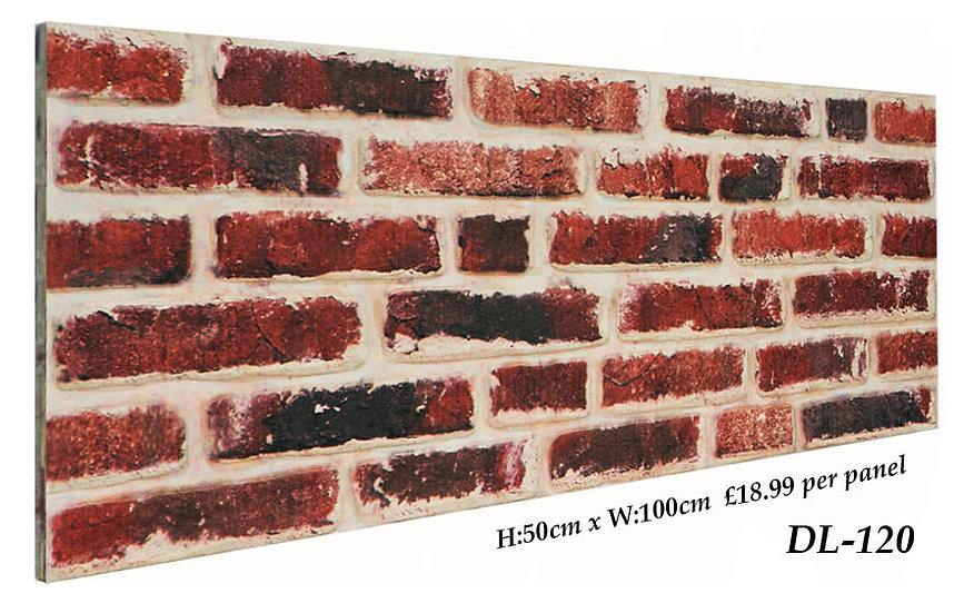 DL120 3D Brick Effect Wall Panel Polystyrene Ceiling Panels