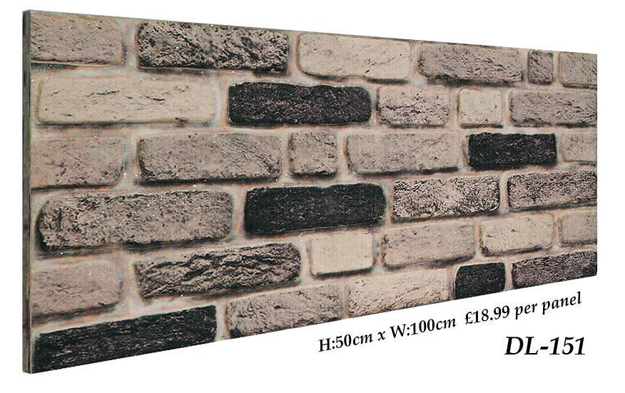 DL151 3D Brick Effect Wall Panel Polystyrene Ceiling Panels