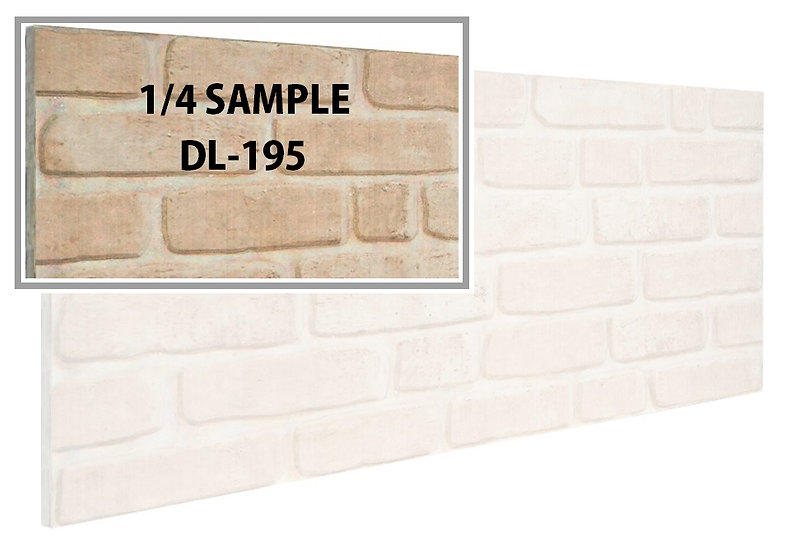 SMP DL195 - 3D Brick Effect Wall Panel Polystyrene Ceiling Panels