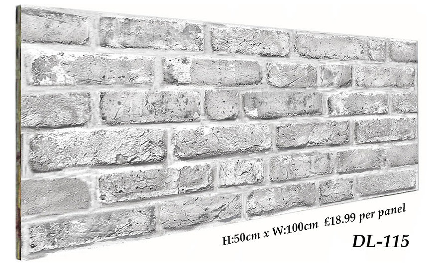 DL115 3D Brick Effect Wall Panel Polystyrene Ceiling Panels