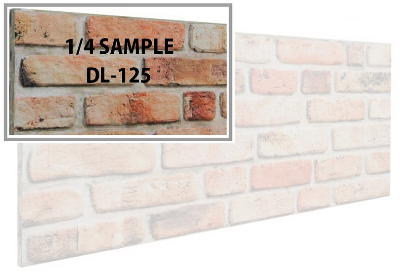 SMP DL125 - 3D Brick Effect Wall Panel Polystyrene Ceiling Panels