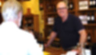 Don't know what to say? Easy...ask a friendly tasting room manager like Doug Bellamy at Cooper Vineyards for help. Just ask and they'll answer questions you may have. Pretty easy...right Doug?