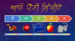 3. Punjabi Alphabet