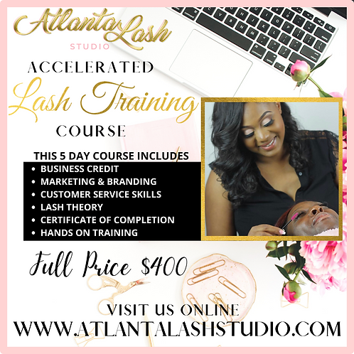 5 Day Virtual and Hands on Lash Training