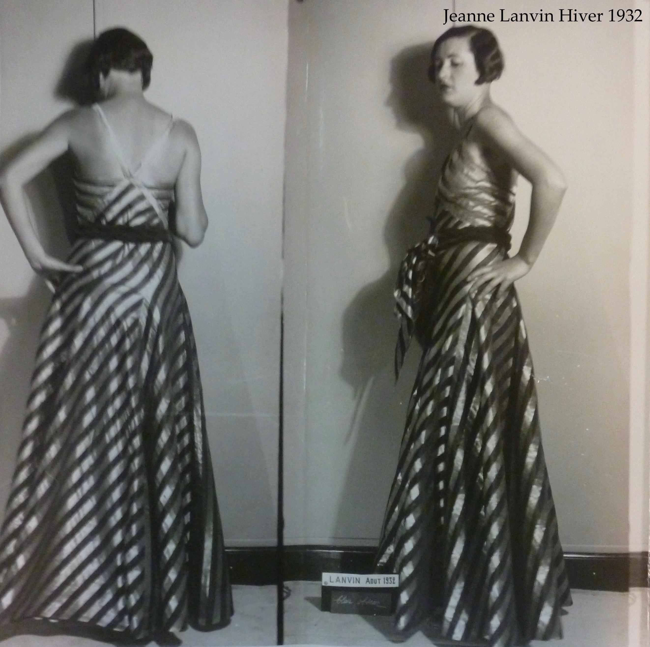 Jeanne Lanvin Hiver 1932