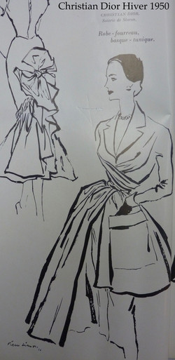Christian Dior Hiver 1950