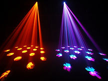 Party Lighting Hire Gloucestershire