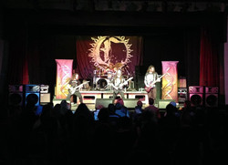 Large rock shows